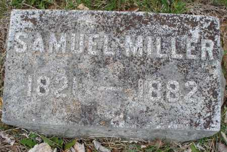 MILLER, SAMUEL - Montgomery County, Ohio   SAMUEL MILLER - Ohio Gravestone Photos
