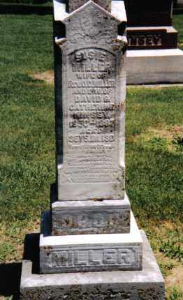 KINSEY MILLER, SUSIE - Montgomery County, Ohio | SUSIE KINSEY MILLER - Ohio Gravestone Photos