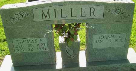 MILLER, THOMAS E - Montgomery County, Ohio | THOMAS E MILLER - Ohio Gravestone Photos