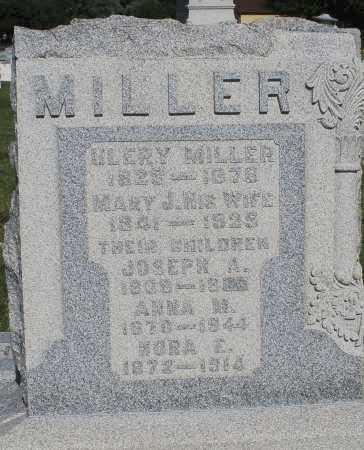 MILLER, ANNA M. - Montgomery County, Ohio   ANNA M. MILLER - Ohio Gravestone Photos