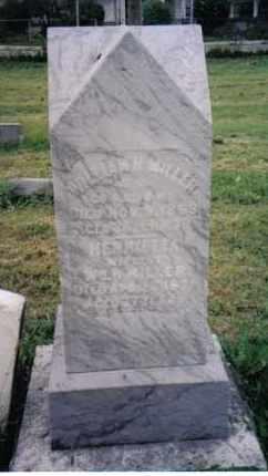 MILLER, WILLIAM H. - Montgomery County, Ohio   WILLIAM H. MILLER - Ohio Gravestone Photos
