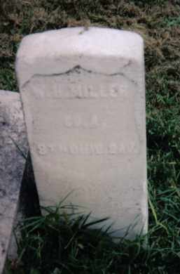 MILLER, W. H. - Montgomery County, Ohio | W. H. MILLER - Ohio Gravestone Photos