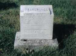 MILLER, WOVA G. - Montgomery County, Ohio   WOVA G. MILLER - Ohio Gravestone Photos