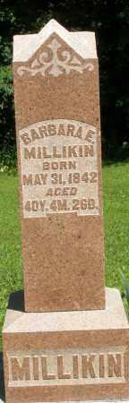 MILLIKIN, BARBARA E. - Montgomery County, Ohio | BARBARA E. MILLIKIN - Ohio Gravestone Photos