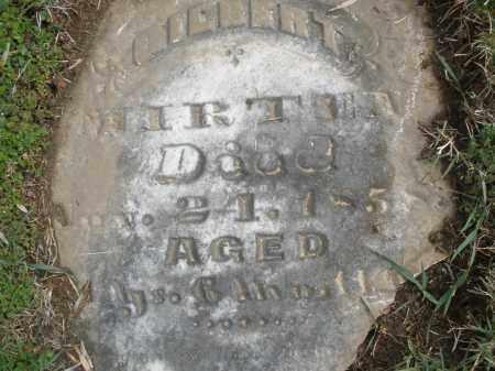 MIRTEN, GILBERT - Montgomery County, Ohio | GILBERT MIRTEN - Ohio Gravestone Photos