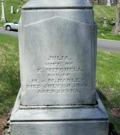MITCHELL, JULIA - Montgomery County, Ohio | JULIA MITCHELL - Ohio Gravestone Photos