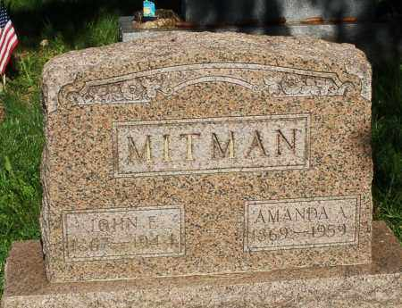 MITMAN, JOHN - Montgomery County, Ohio | JOHN MITMAN - Ohio Gravestone Photos