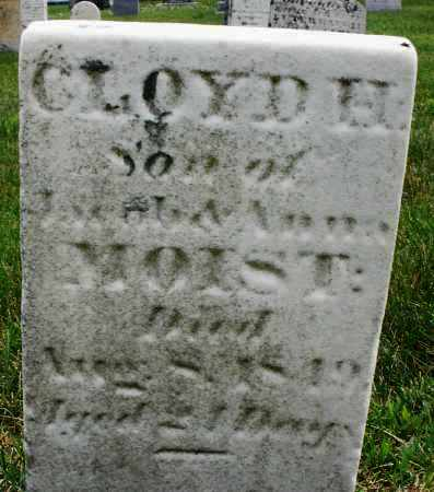 MOIST, CLOYD H. - Montgomery County, Ohio   CLOYD H. MOIST - Ohio Gravestone Photos