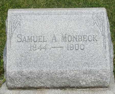 MONBECK, SAMUEL A. - Montgomery County, Ohio | SAMUEL A. MONBECK - Ohio Gravestone Photos
