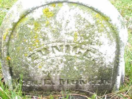 MONGER, EUNICE - Montgomery County, Ohio | EUNICE MONGER - Ohio Gravestone Photos