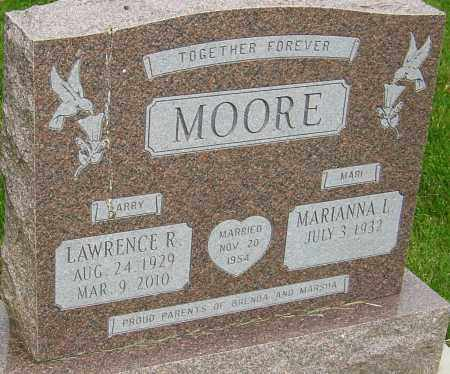 MOORE, LAWRENCE R - Montgomery County, Ohio | LAWRENCE R MOORE - Ohio Gravestone Photos