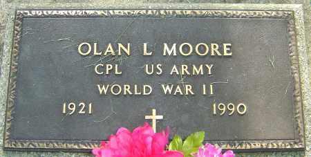 MOORE, OLAN L - Montgomery County, Ohio   OLAN L MOORE - Ohio Gravestone Photos