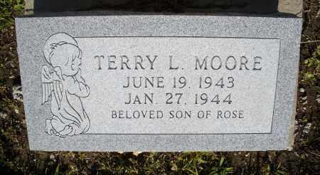 MOORE, TERRY L. - Montgomery County, Ohio   TERRY L. MOORE - Ohio Gravestone Photos