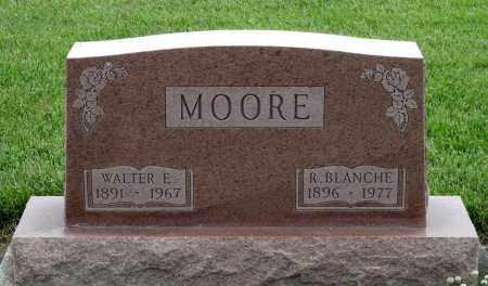 MOORE, WALTER E. - Montgomery County, Ohio | WALTER E. MOORE - Ohio Gravestone Photos