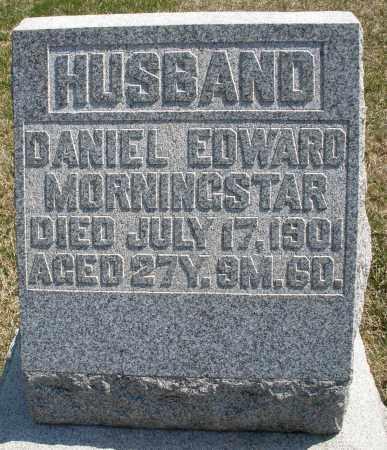 MORNINGSTAR, DANIEL EDWARD - Montgomery County, Ohio | DANIEL EDWARD MORNINGSTAR - Ohio Gravestone Photos