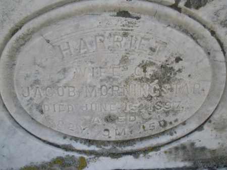 MORNINGSTAR, HARRIET - Montgomery County, Ohio | HARRIET MORNINGSTAR - Ohio Gravestone Photos