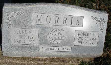 MORRIS, ROBERT A. - Montgomery County, Ohio | ROBERT A. MORRIS - Ohio Gravestone Photos