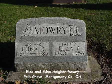 HEIGHER MOWRY, EDNA - Montgomery County, Ohio | EDNA HEIGHER MOWRY - Ohio Gravestone Photos
