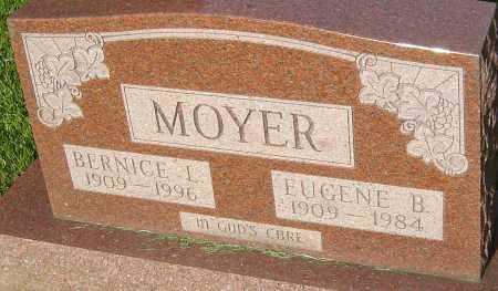 MOYER, EUGENE B - Montgomery County, Ohio   EUGENE B MOYER - Ohio Gravestone Photos