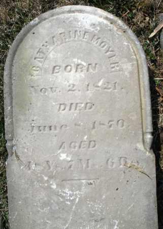 MOYER, CATHARINE - Montgomery County, Ohio   CATHARINE MOYER - Ohio Gravestone Photos