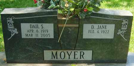 MOYER, DAIL S - Montgomery County, Ohio   DAIL S MOYER - Ohio Gravestone Photos