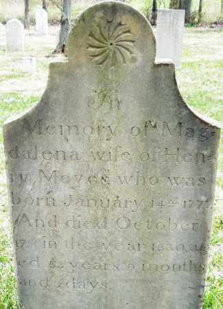 MOYER, MAGDELENA - Montgomery County, Ohio | MAGDELENA MOYER - Ohio Gravestone Photos