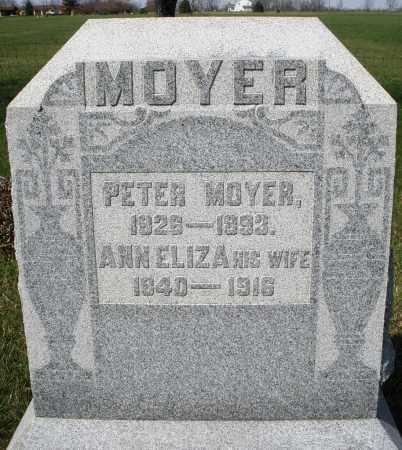 MOYER, PETER - Montgomery County, Ohio | PETER MOYER - Ohio Gravestone Photos
