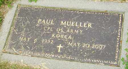 MUELLER, PAUL - Montgomery County, Ohio | PAUL MUELLER - Ohio Gravestone Photos