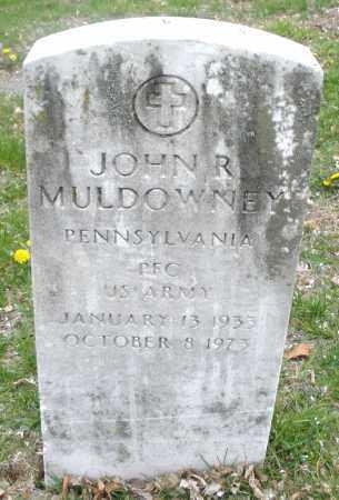 MULDOWNEY, JOHN  R. - Montgomery County, Ohio   JOHN  R. MULDOWNEY - Ohio Gravestone Photos