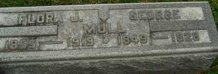 MULL, GEORGE - Montgomery County, Ohio | GEORGE MULL - Ohio Gravestone Photos