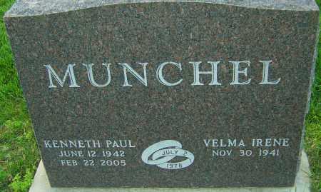 MUNCHEL, KENNETH PAUL - Montgomery County, Ohio | KENNETH PAUL MUNCHEL - Ohio Gravestone Photos