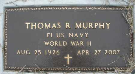 MURPHY, THOMAS R. - Montgomery County, Ohio | THOMAS R. MURPHY - Ohio Gravestone Photos