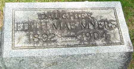 MYERS, EDITH MAE - Montgomery County, Ohio | EDITH MAE MYERS - Ohio Gravestone Photos