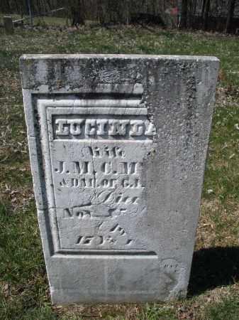 MYERS, LUCINDA - Montgomery County, Ohio   LUCINDA MYERS - Ohio Gravestone Photos