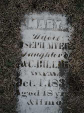 MYERS, MARY - Montgomery County, Ohio | MARY MYERS - Ohio Gravestone Photos