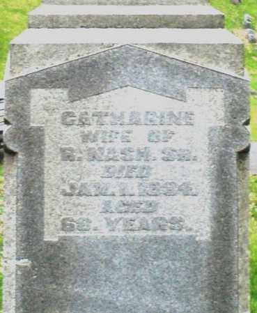 NASH, CATHARINE - Montgomery County, Ohio | CATHARINE NASH - Ohio Gravestone Photos