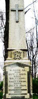 NASH, R. - Montgomery County, Ohio | R. NASH - Ohio Gravestone Photos