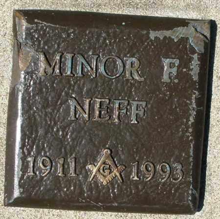NEFF, MINOR F. - Montgomery County, Ohio | MINOR F. NEFF - Ohio Gravestone Photos