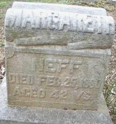 NEFF, MARGARET - Montgomery County, Ohio | MARGARET NEFF - Ohio Gravestone Photos