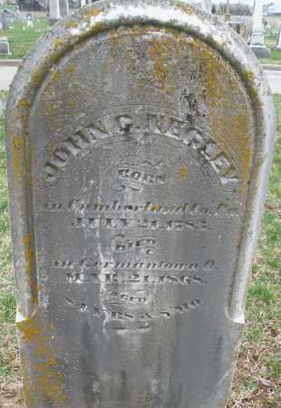 NEGLEY, JOHN - Montgomery County, Ohio | JOHN NEGLEY - Ohio Gravestone Photos