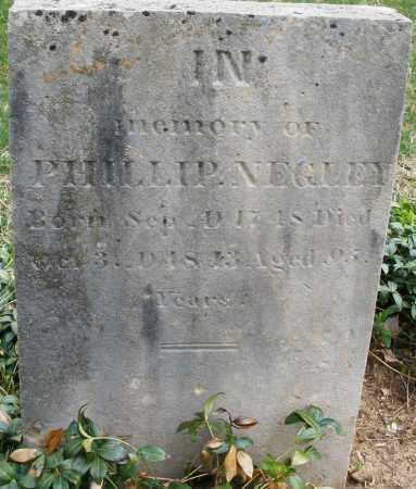 NEGLEY, PHILLIP - Montgomery County, Ohio | PHILLIP NEGLEY - Ohio Gravestone Photos