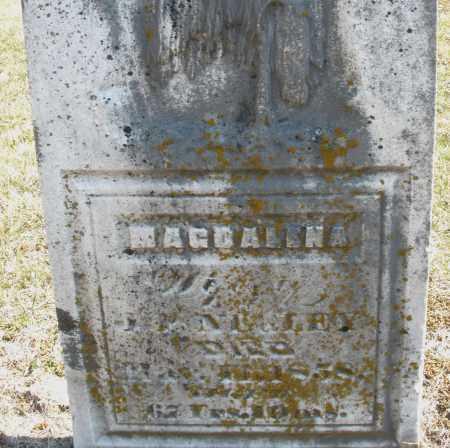 NEGLEY/NAGLEY, MAGDELENA - Montgomery County, Ohio | MAGDELENA NEGLEY/NAGLEY - Ohio Gravestone Photos