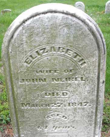 NEIBEL, ELIZABETH - Montgomery County, Ohio | ELIZABETH NEIBEL - Ohio Gravestone Photos