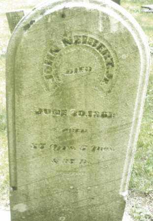NEIBERT, JOHN - Montgomery County, Ohio | JOHN NEIBERT - Ohio Gravestone Photos