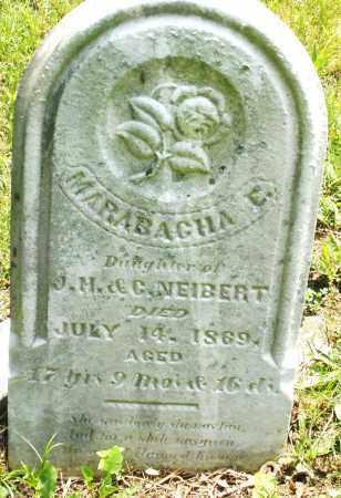 NEIBERT, MARABAGHA E. - Montgomery County, Ohio   MARABAGHA E. NEIBERT - Ohio Gravestone Photos