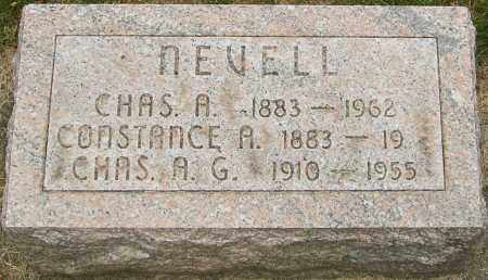 NEVELL, CHARLES A G - Montgomery County, Ohio | CHARLES A G NEVELL - Ohio Gravestone Photos