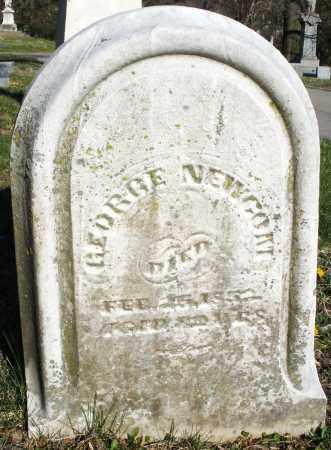 NEWCOM, GEORGE - Montgomery County, Ohio | GEORGE NEWCOM - Ohio Gravestone Photos