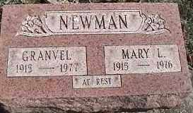 NEWMAN, GRANVEL - Montgomery County, Ohio | GRANVEL NEWMAN - Ohio Gravestone Photos