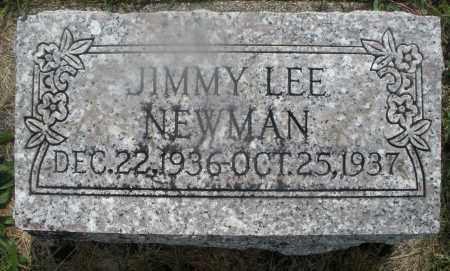 NEWMAN, JIMMY LEE - Montgomery County, Ohio | JIMMY LEE NEWMAN - Ohio Gravestone Photos