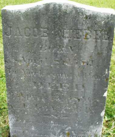NIEBEL, JACOB - Montgomery County, Ohio   JACOB NIEBEL - Ohio Gravestone Photos